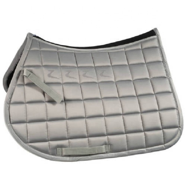 Intrepid International Dressage Pad Quilted with Sheep Skin