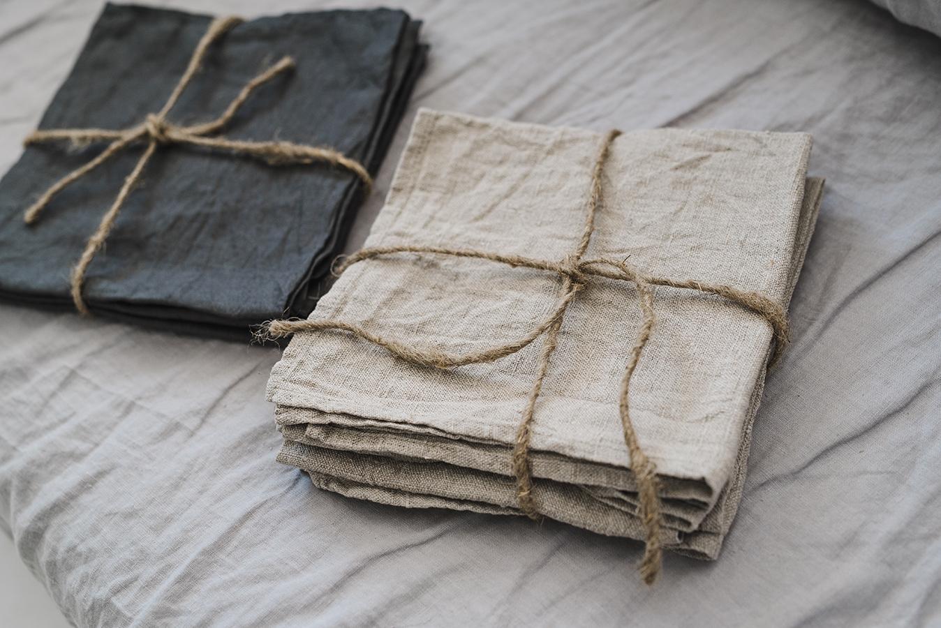 Wholesale Natural Linen Table Napkins