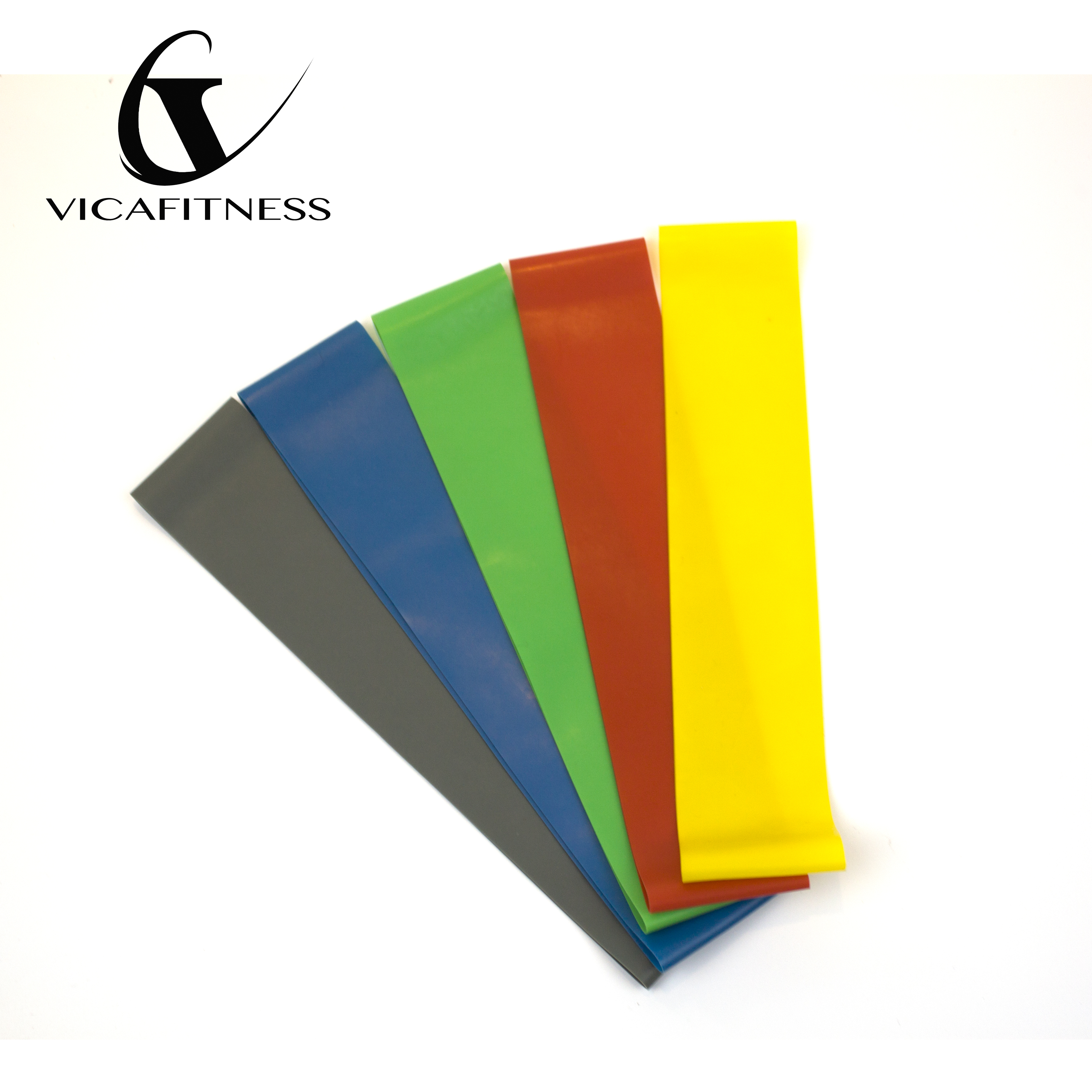 Wholesale high quality latex custom logo fitness stretch <strong>resistance</strong> band