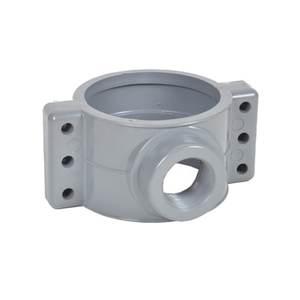 All Types 75mm 110mm 250mm Plastic PVC UPVC Pipe Fitting Saddle Clamps For Water Supply