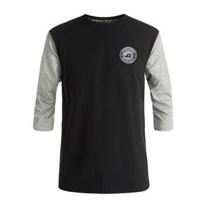 Wholesale Blank Cotton Printing Baseball 3/4 Raglan Sleeve T Shirt Men