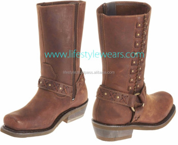 Womens sexy leather boots