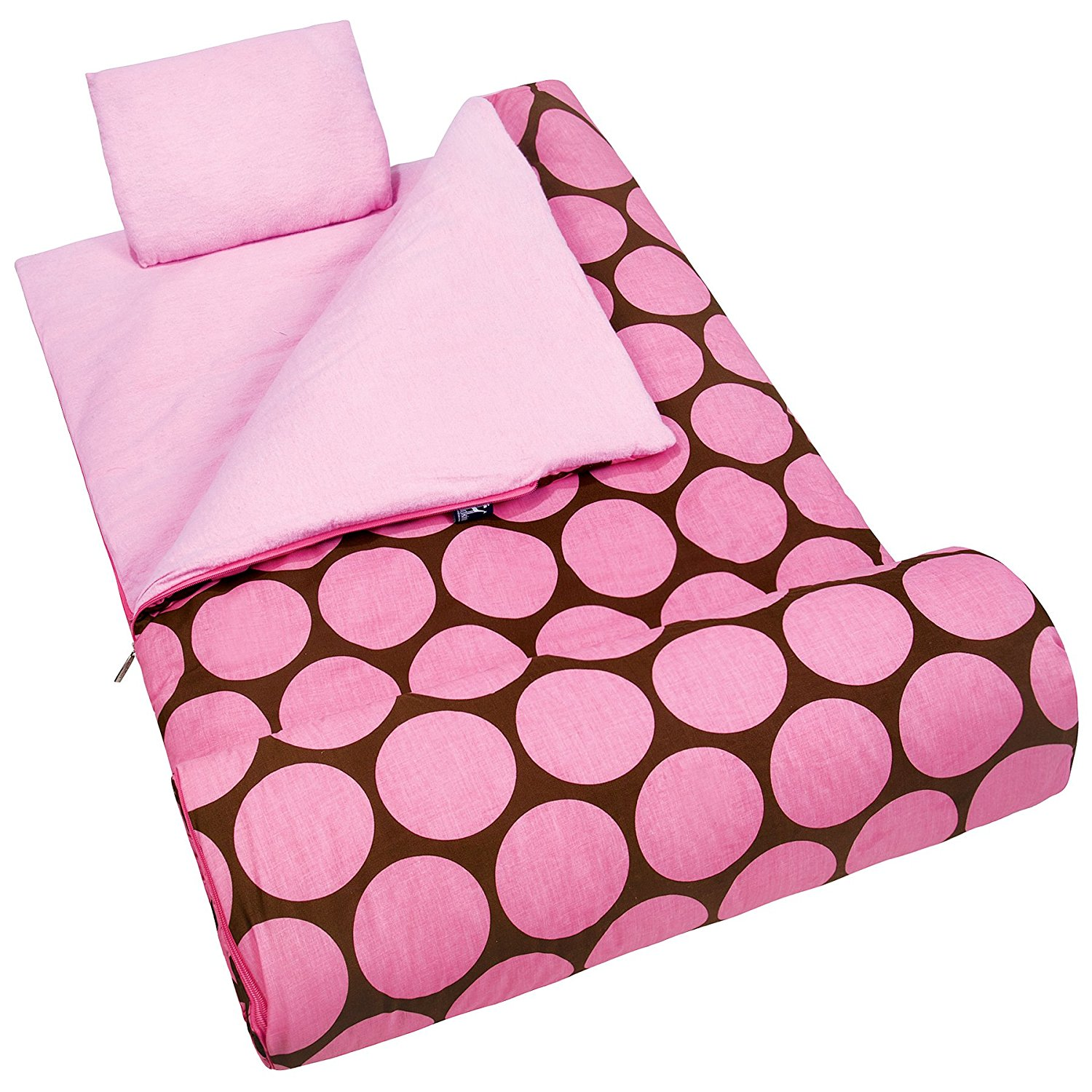 Buy Pink Peace Owls Flannel Sleeping Bag And Pillow For 18 American