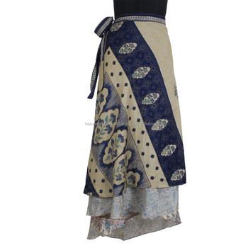3cbac552f Nueva Llegada Indio Vintage Hermoso De Seda De Las Mujeres Magia Falda -  Buy Faldas Abrigo Boho Gipsy Faldas,Último Estilo 100% Falda De Seda  Vintage ...