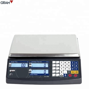 High accurate LCD display type digital counting postal scale weighing scale OIML/CE certification postal shipping scales