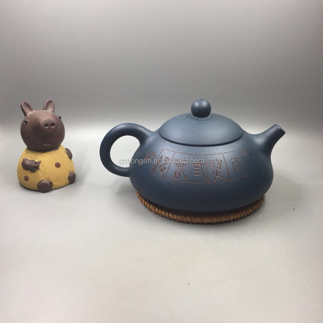 Chinese Yixing Purple Clay Zisha Tea Pots Traditional Kungfu Tea Set China Handmade Gongfu TeaPot