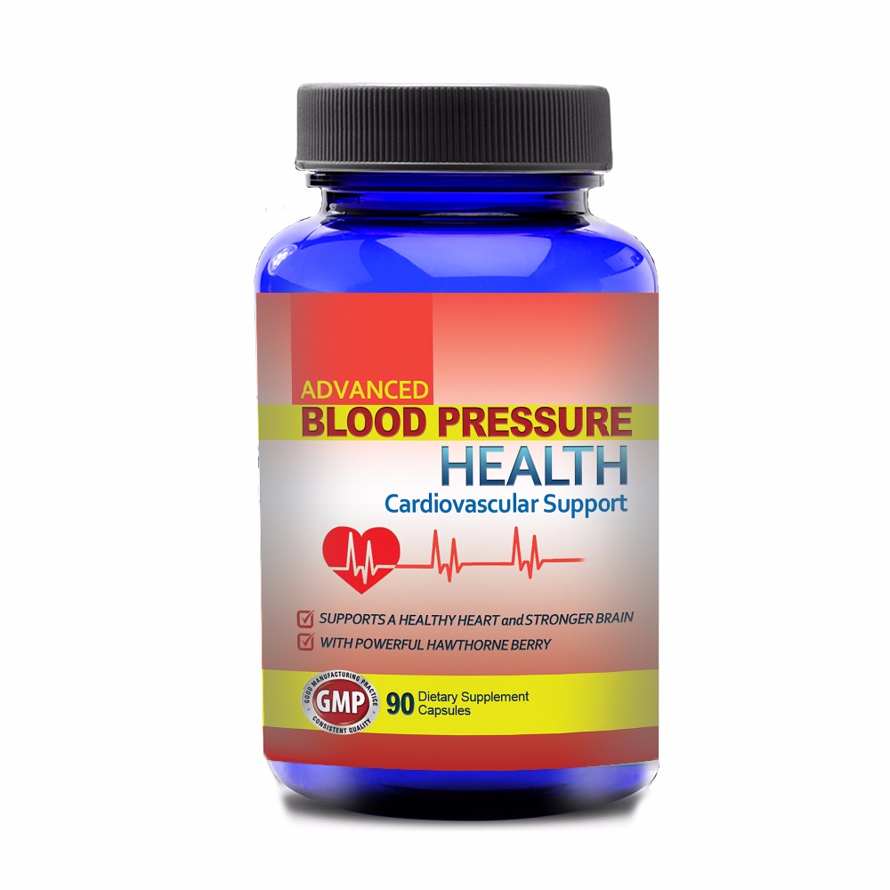Advanced Blood Pressure Cardiovascular Support (90 Capsules)