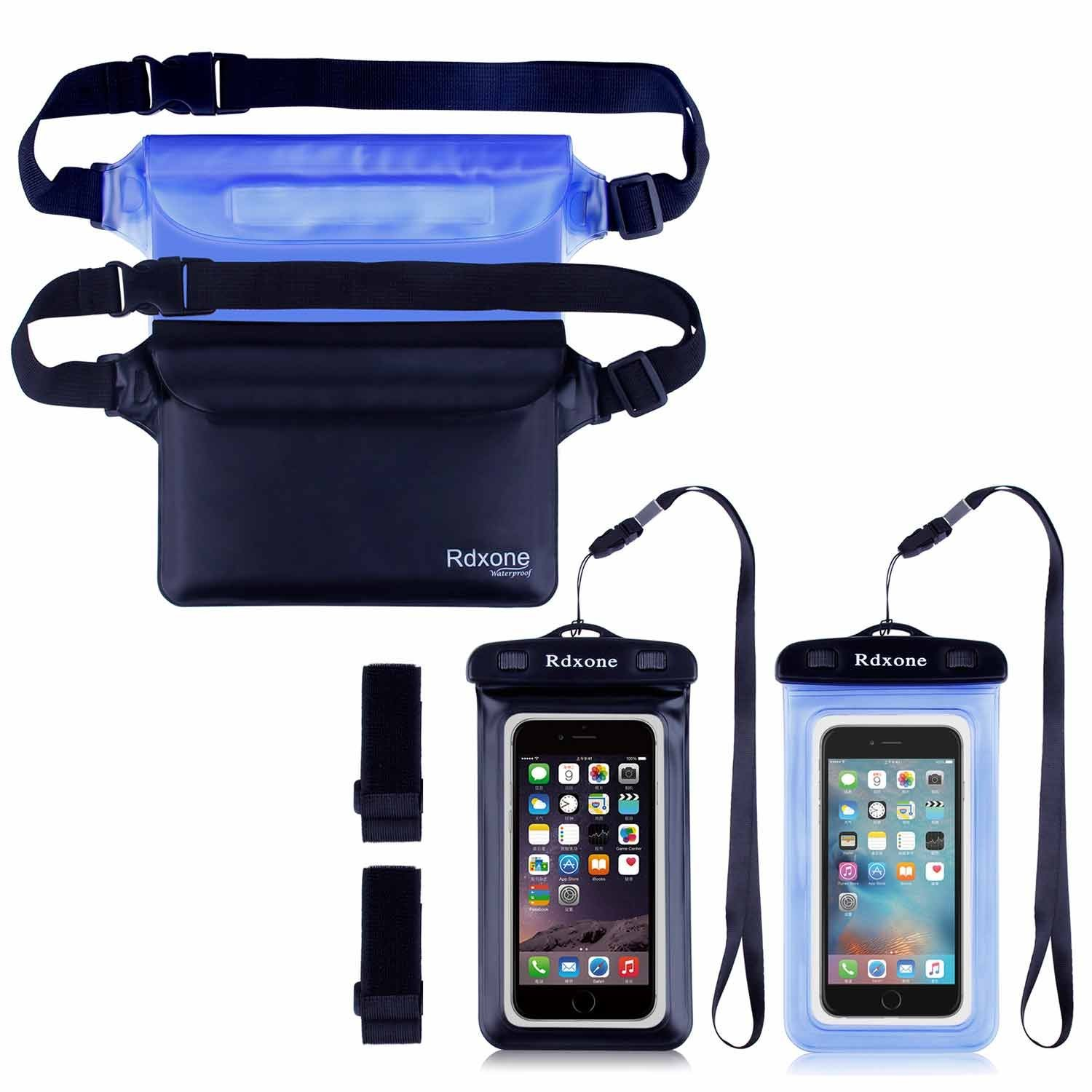 Get Quotations Waterproof Pouch Rdxone Phone With Waist Strap Keep And Wallet Safe