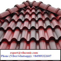 High quality colored glazed clay roof tile Price_WHATSAPP: +84989322607