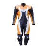 PIB-313 Pakistan Customized top Quality 1 PC Leather Suit motorbike Motorcycle Racing gear Suit 2 color with protector