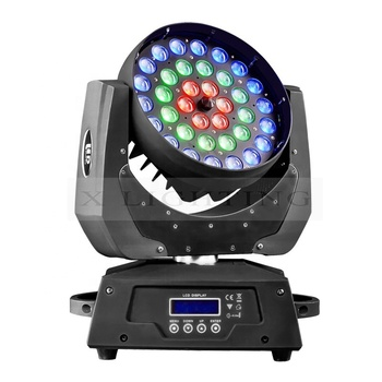 Xlighting DMX LED Zoom Moving Head Stage Light DMX wash Lighting