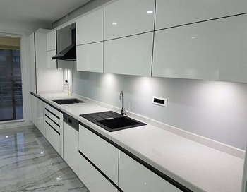 Best Sale White Glossy Handleless Kitchen Cabinet - Buy Best Sale Kitchen  Cabinet,Handleless Kitchen Cabinet,White Glossy Kitchen Cabinet Product on  ...