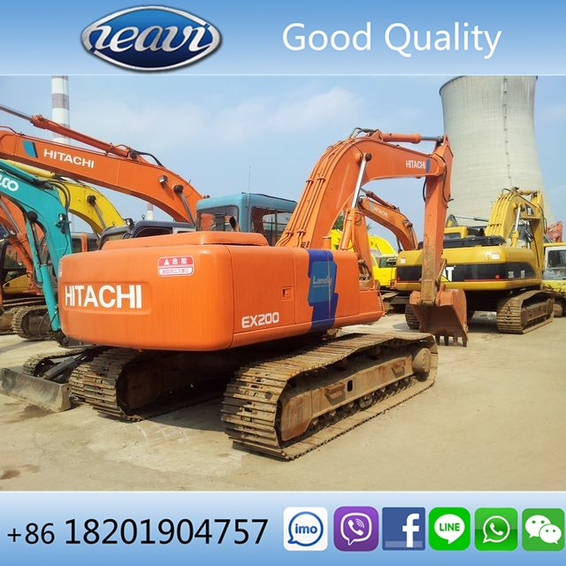 Japan hydraulic crawler original Hitachi EX200-3 excavator