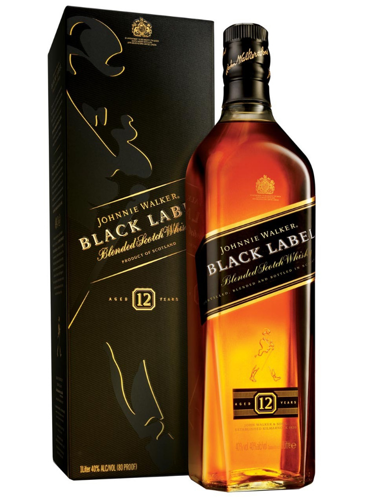 Johnnie Walker Red, Black, Gold, Blue Labels Whisky