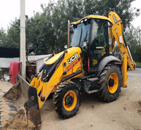 Used backhoe JCB 3CX on hot sale,high quality in shanghai