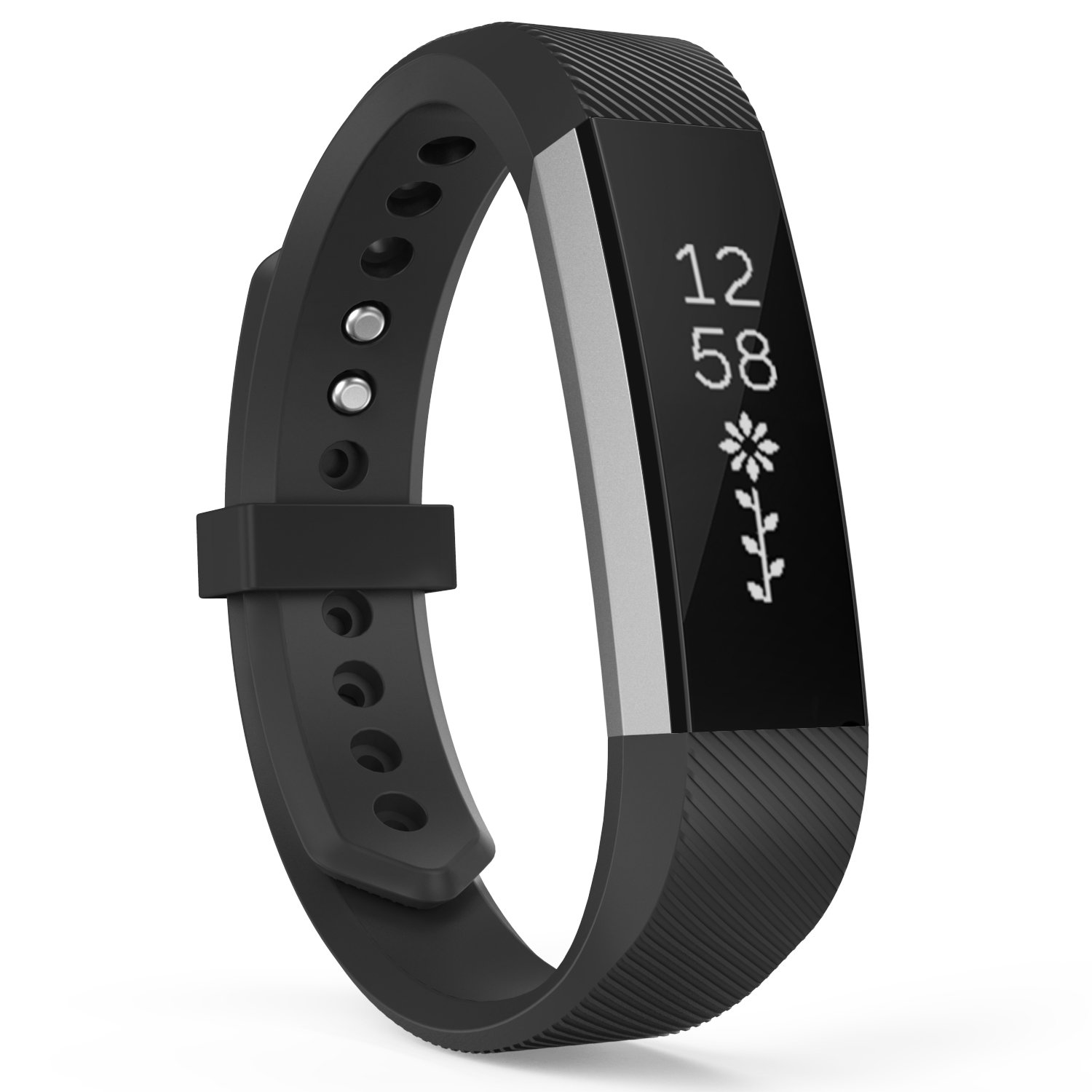 Cheap Fitbit Fitness Tracker Find Deals On Alta Hr Smartwatch Small Black Stainless Steel Get Quotations Moko And Band Classic Replacement Soft Wristband Strap With Metal Clasp