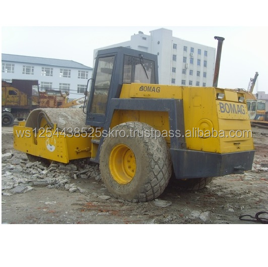 Top performance Bomag BW217D used road roller sale
