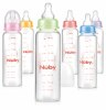 Nuby 240ml SN glass Baby bottle with silicone nipple