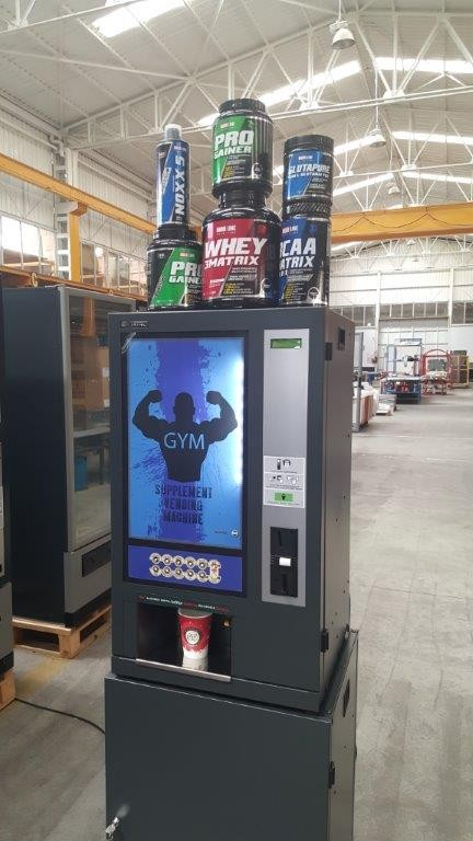 Protein Shake Vending Machine Supplement Vendor Buy