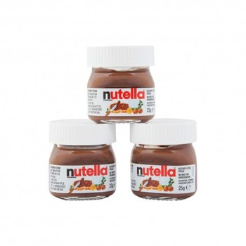 Mini Nutella Jars 25g, View inflatable nutella jar, Nutella Product Details  from AUTOCENTER DELFT on Alibaba com