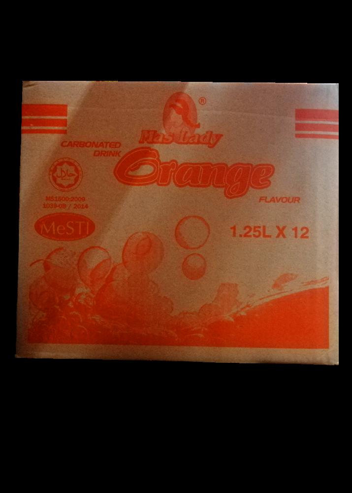 1.25 L Orange Flavour Maslady Softdrink