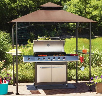 OPEN BOX Replacement Canopy Top Cover for Mainstays' Grill Shelter