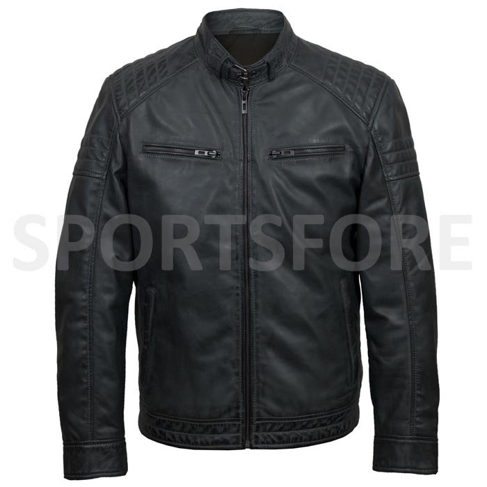 100% Genuine Leather Jackets For Men