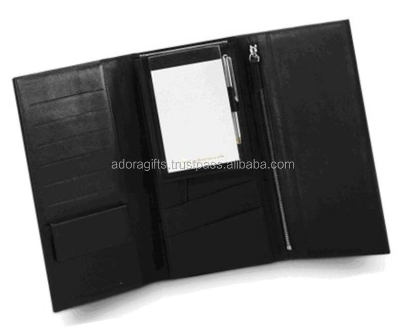 genuine leather passport holder with many pockets / cute passport holder for women / leather passport travel ticket holder
