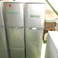 Alternative wide styles small commercial two door refrigerator size