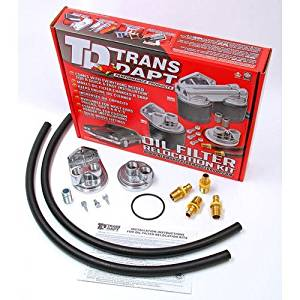 Trans-Dapt 1122 Oil Filter Relocation Kit by Trans-Dapt Performance