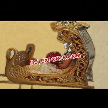 c31957027258 Indian Wedding Wooden Swan Palki