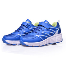 Korea wholesale websites new fashion sport shoes Roller Shoes Blue