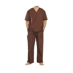 OEM Supply Service! Hospital Medical Scrubs top&pant Uniform Sets Unisex
