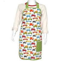 Cotton Waist Kitchen Apron from India