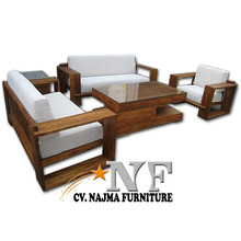 Living room Fabric furniture sofa , living room furniture nature solid wood sofa set furniture designs