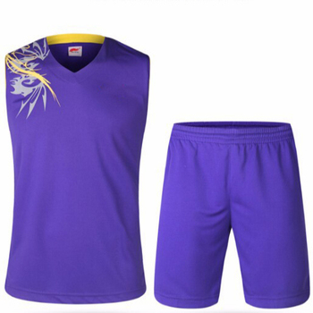 779718c680b Men Basketball Jersey Set Blank Training Suit Set Cheap Basketball ...