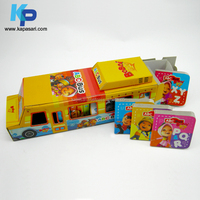 Bus Shaped Children Toy Book / Novelty Board Book