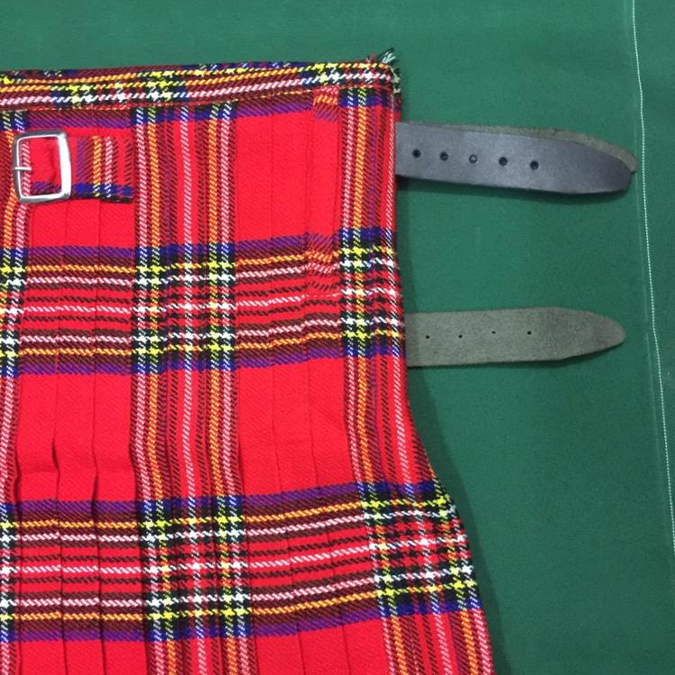 Royal Stewart Tartan Band Kilt