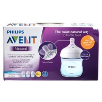 3-pack Natural Wide Neck Bottles - Blue PHILIPS AVENT baby feeding bottles for wholesale