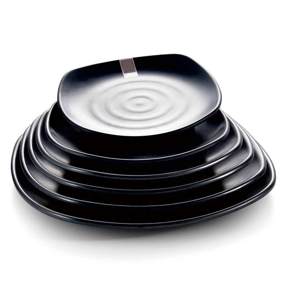 Sushi Restaurant dinnerware square durable black cheap melamine plates wholesale dinner plates  sc 1 st  Alibaba & Sushi Restaurant Dinnerware Square Durable Black Cheap Melamine ...