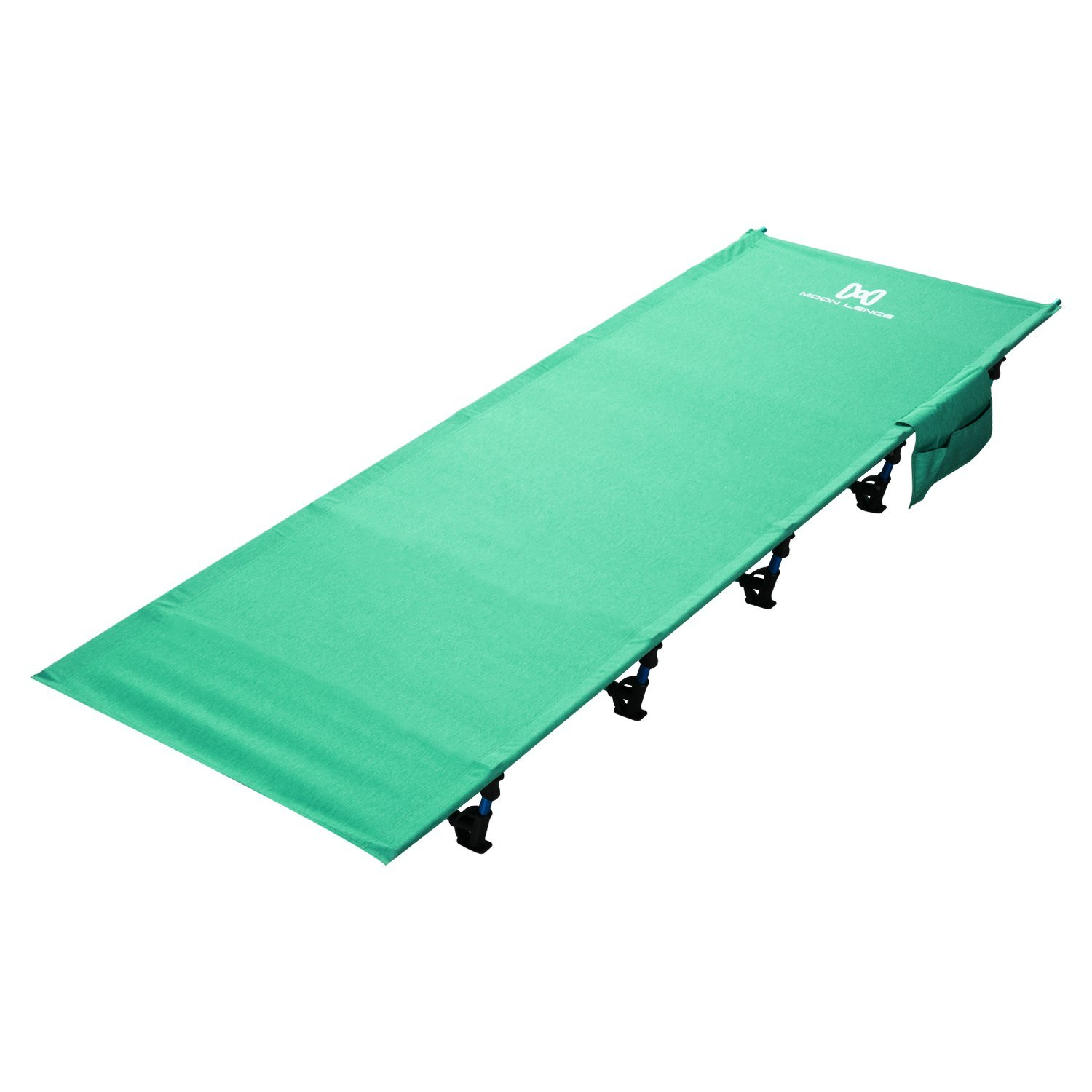 Moon Lence Camping Cot for Adults Lightweight Portable Camping Bed Compact Folding Cot with Breathable Waterproof Bed Surface,Perfect for Base Camp,Hiking and Hunting