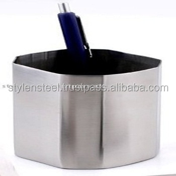 Promotional Stainless Steel Pen Holder