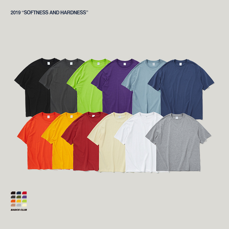 OEM ODM Custom Cotton Oversized Tshirt Drop Shoulder T-shirts