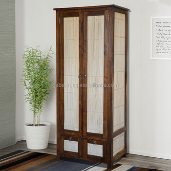 Cabinet Classic Combination Bamboo And Teak Wood Furniture With Brown Colour Classic Wood Furniture Handmade From Asia Buy Cabinet Wooden