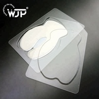 Custom design thermoformed blister eye mask clear PP plastic disposable cosmetic clamshell packaging
