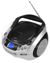 CT-288B Hot Jual Portable CD Player Logam Teleskopik <span class=keywords><strong>LCD</strong></span> Display Double Speaker