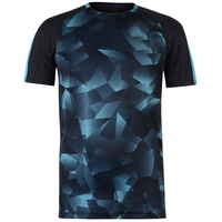 Half Sleeves Quick-Dry Sublimation printing Sports Active wear gym T-shirt, Fitness Clothing with custom logo