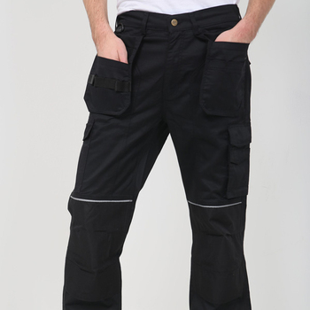 Alligator Poly cotton Cargo Trousers AQ787