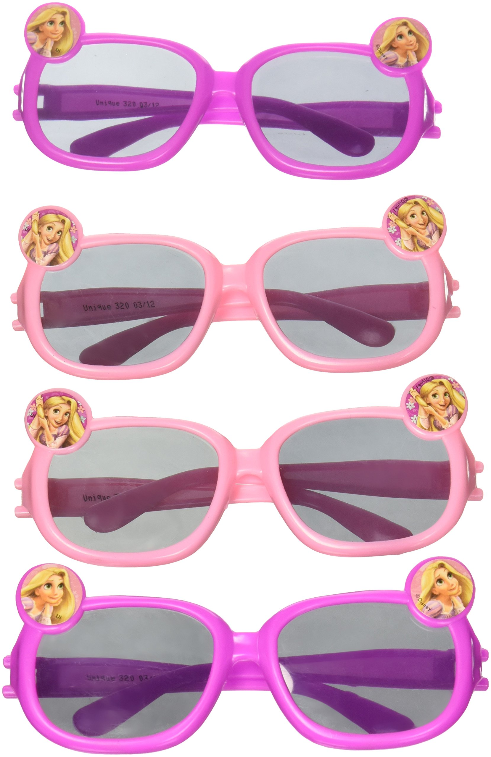 Disney Tangled Novelty Glasses Party Favors, 4ct
