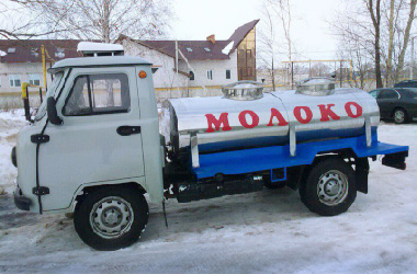 UAZ New Milk Tanker Truck